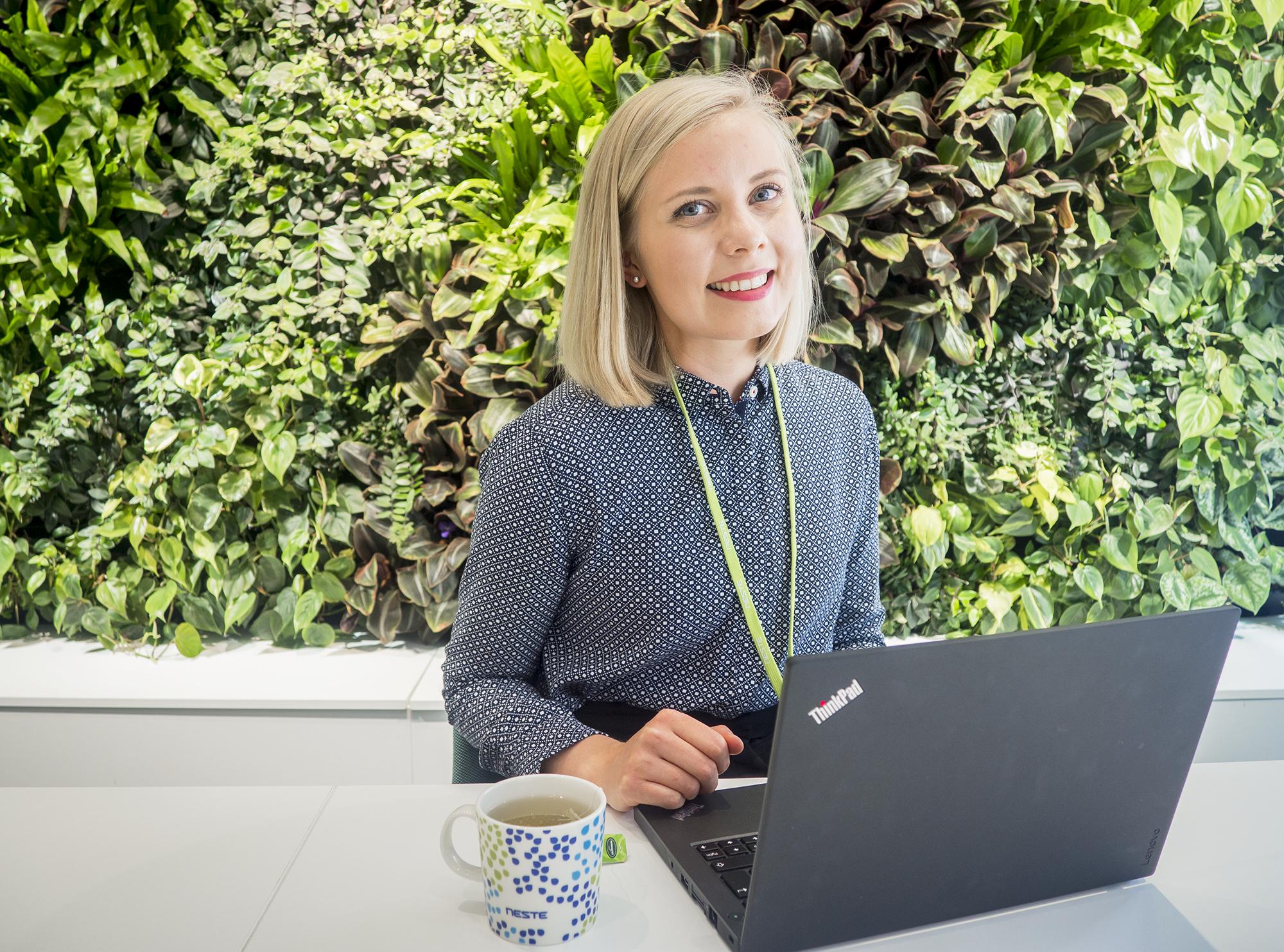 Neste tarjoaa kesätyöntekijöilleen vastuuta kansainvälisessä työympäristössä. Kuva: Sonja Taipale
