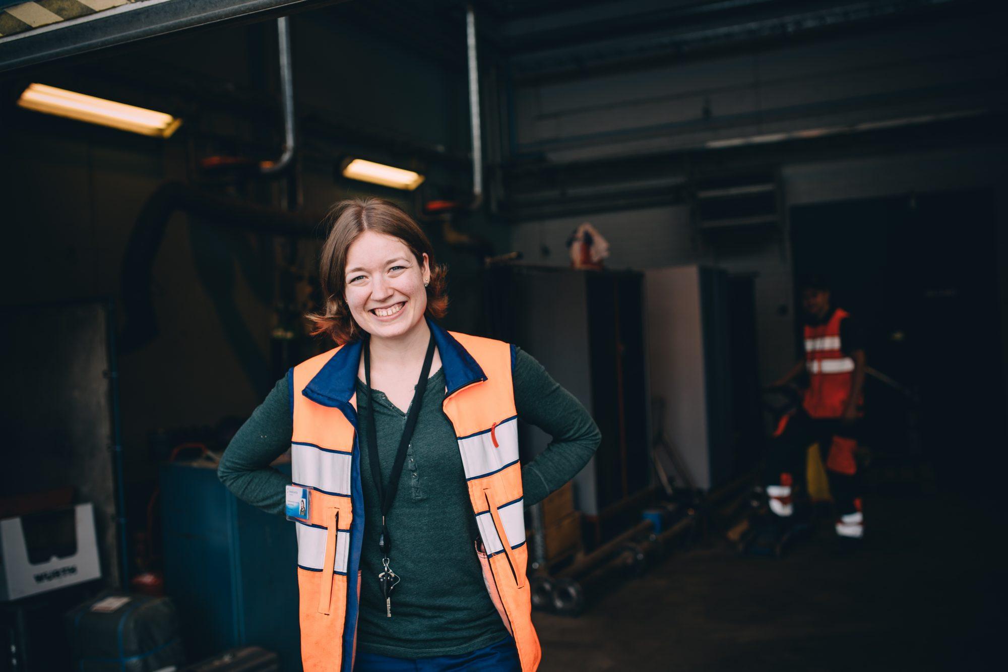 Tampereen Sähkölaitoksella oppii isojen kokonaisuuksien hallintaa. Kuva: Niko Jekkonen